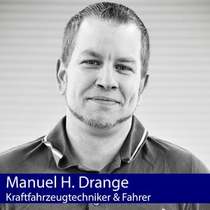 Manuel H. Drange | Kraftfahrzeugtechniker & Fahrer