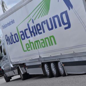 Einblicke in die Werkstatt der Autolackierung Lehmann in Lübeck